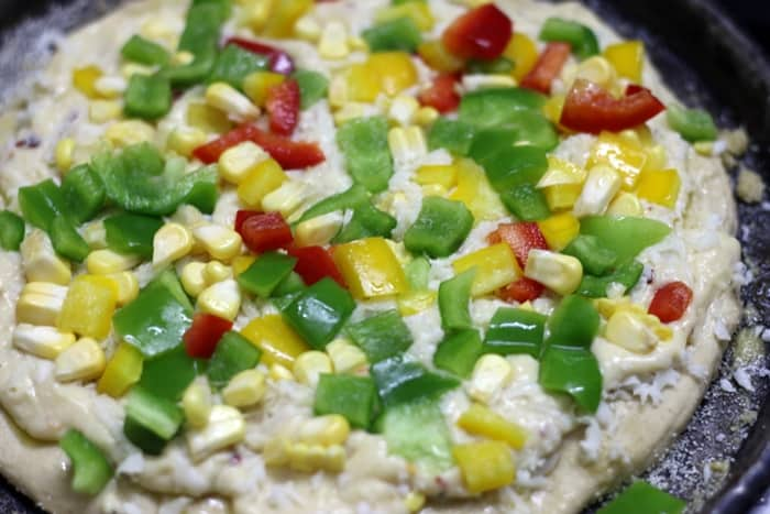 toppings for white sauce pizza recipe