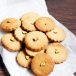 eggless butter cookies recipe with whole wheat flour