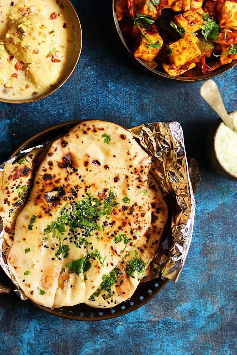aloo kulcha recipe, Indian breakfast recipes