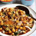 Aloo tikki chole recipe, how to make aloo tikki chole | chole tikki recipe