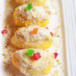 chum chum recipe | Bengali cham cham sweet recipe