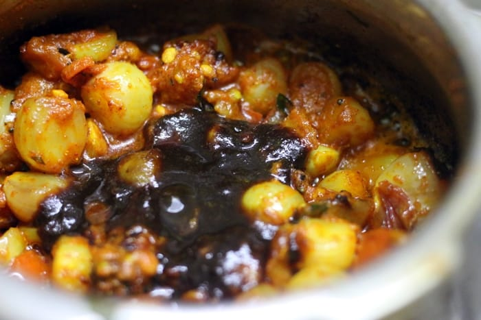 kara kuzhambu recipe step 5