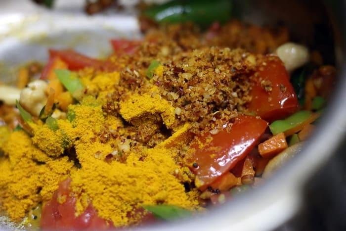 khara bath recipe step 3