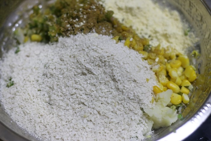 corn kebab recipe step 2