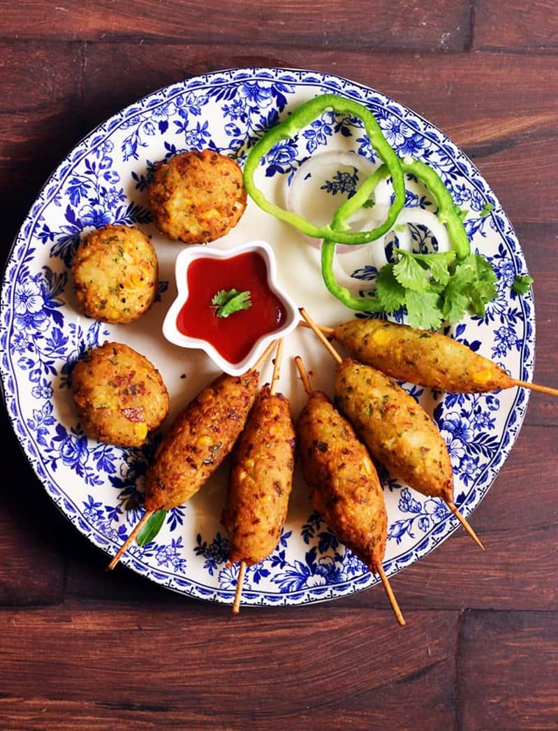 corn kebab recipe