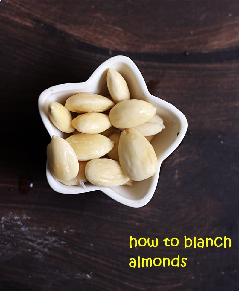 how to make blanched almonds recipe