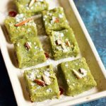 Badam pista burfi recipe | how to make easy pista badam burfi recipe