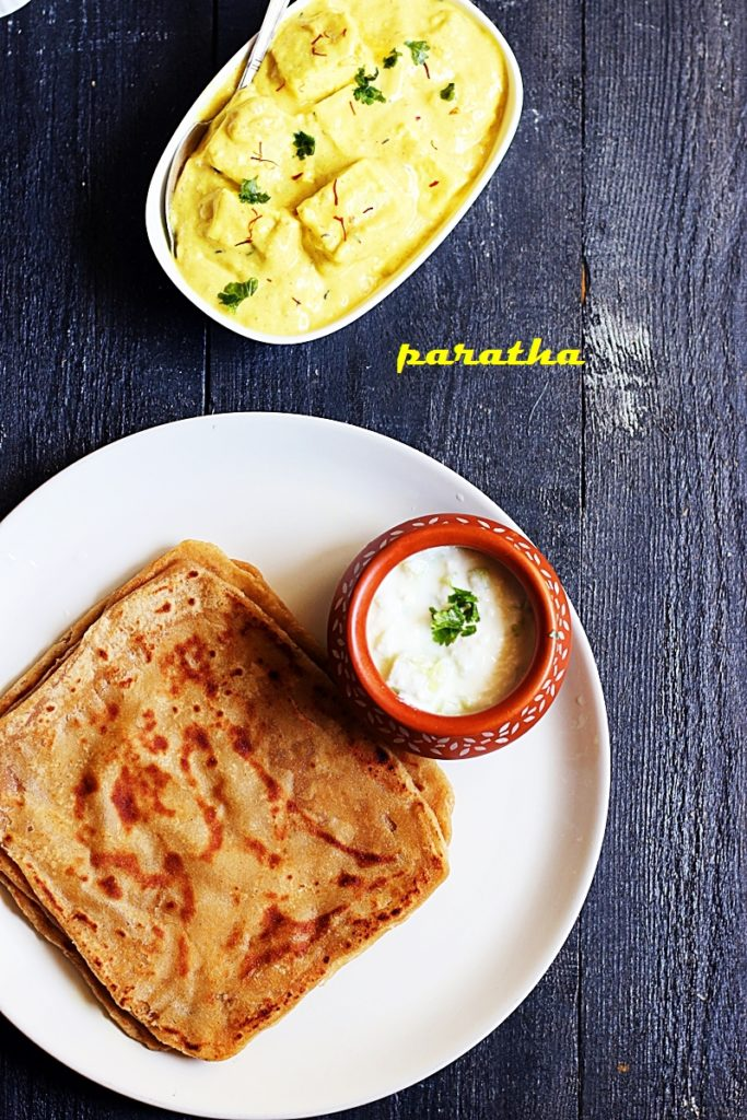 plain paratha recipe c