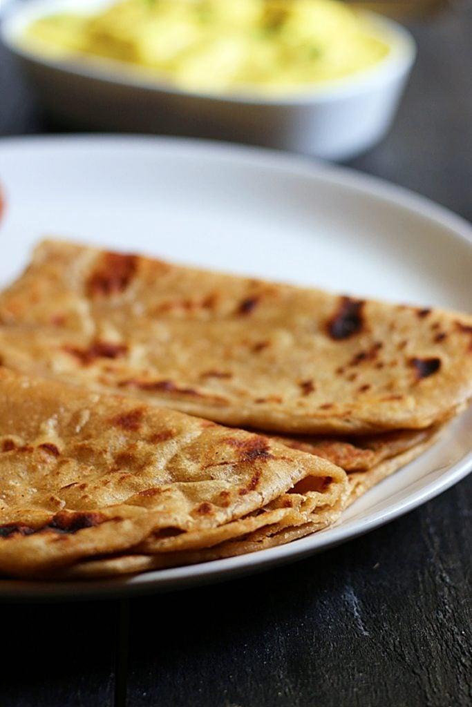 plain paratha recipe d
