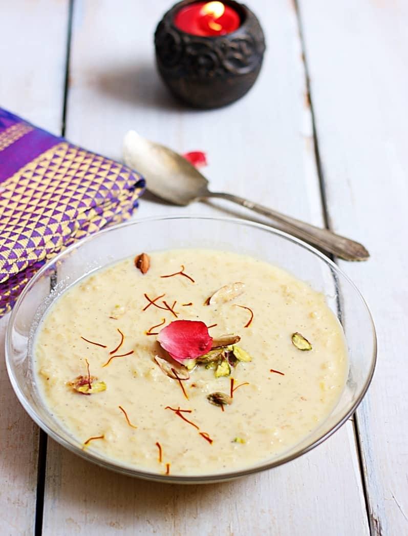 chawal ki kheer recipe