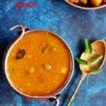 Tomato sambar recipe with coconut | Thakkali sambar recipe | how to make tomato sambar
