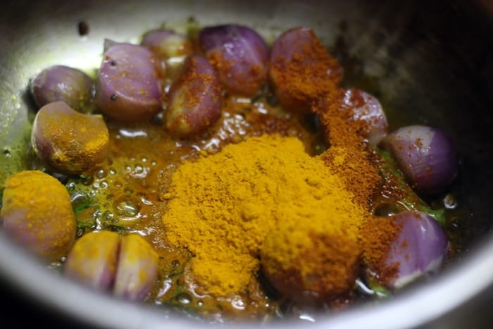 tomato sambar step 2