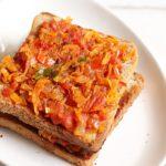 Masala toast recipe Iyengar bakery style | bread masala toast