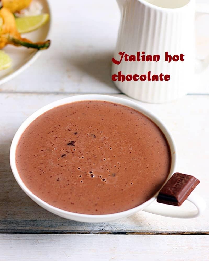 Italian hot chocolate recipe a