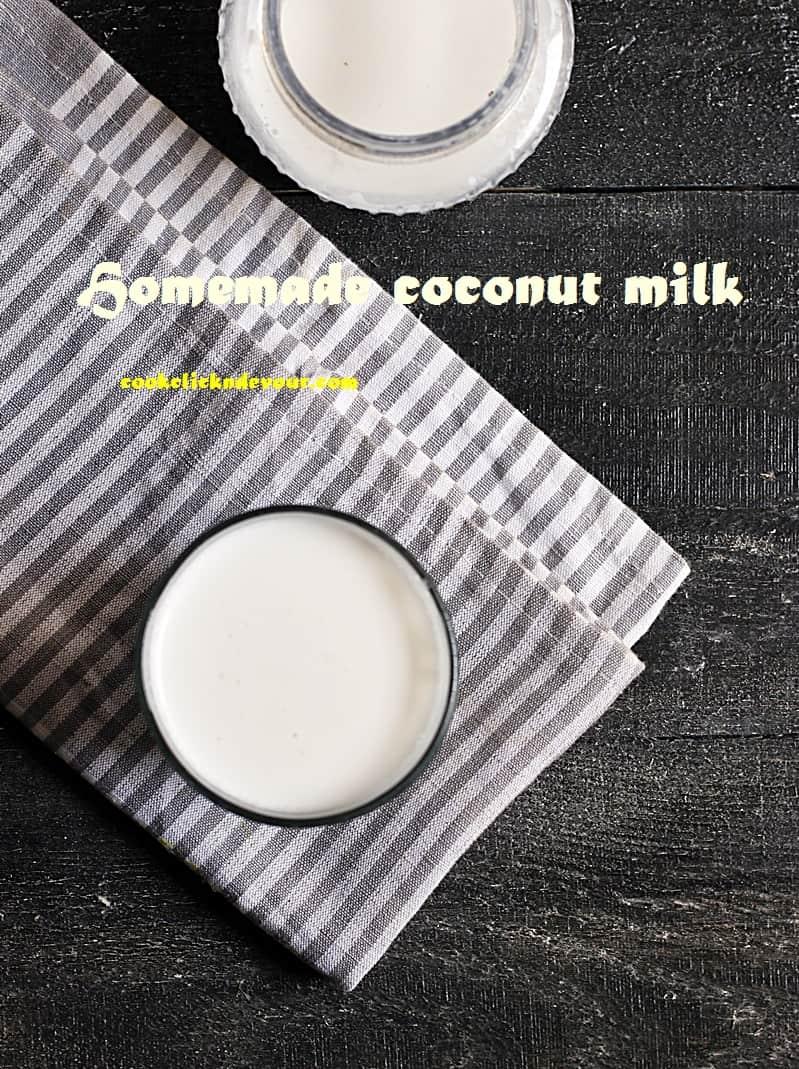 coconut milk recipe c