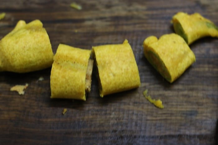 cut mirchi bajji recipe step 7