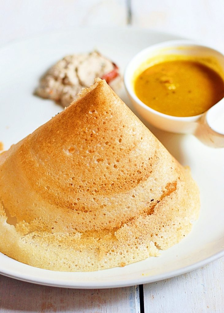 Dosa varieties- ghee roast recipe
