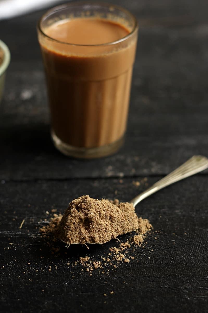 masala tea powder recipe or chai ka masala powder