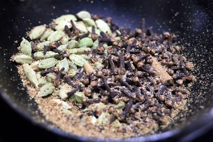 masala tea powder recipe step 1