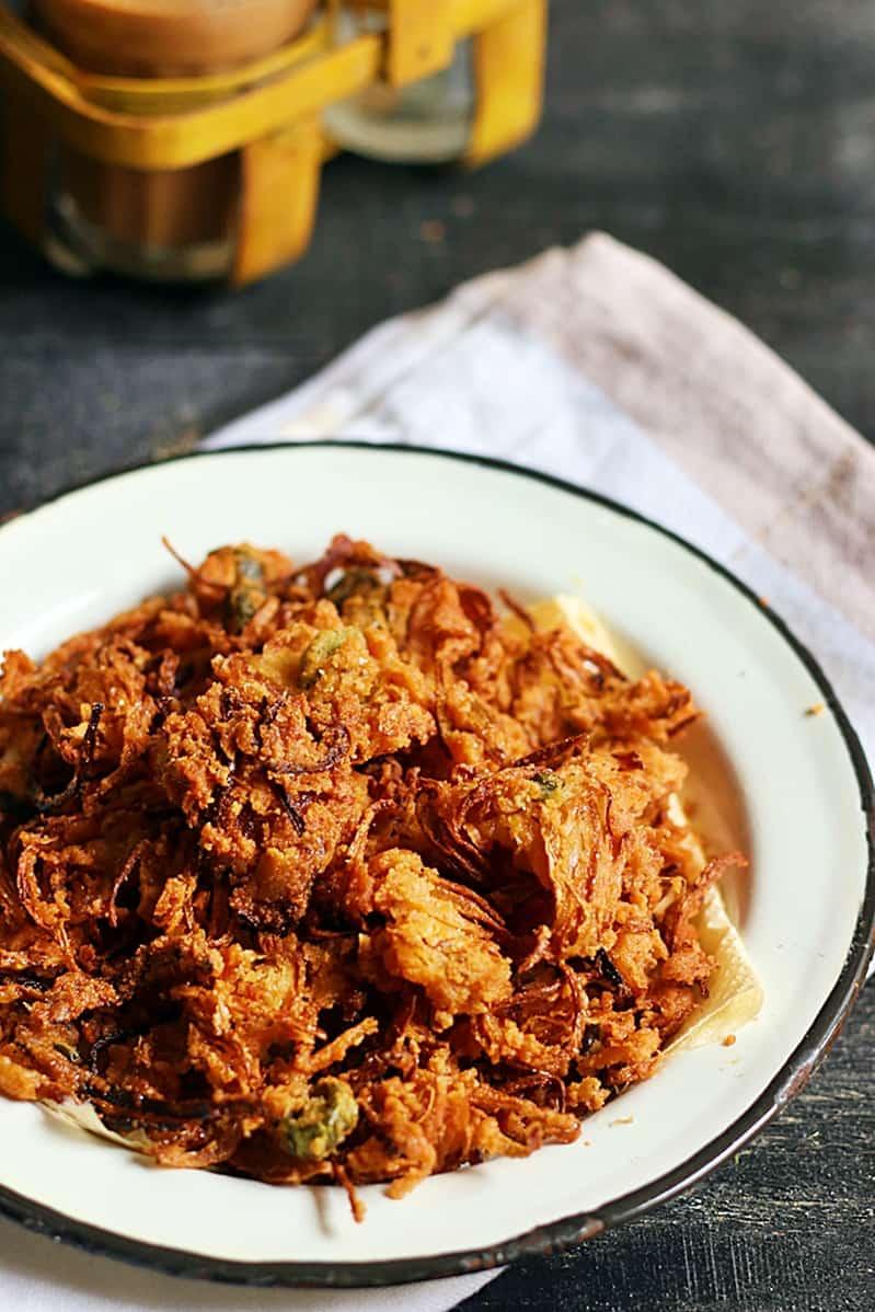 onion pakoda recipe a
