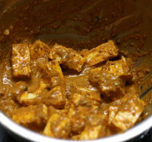 paneer ghee roast recipe step 2