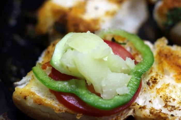 pav sandwich recipe step 4
