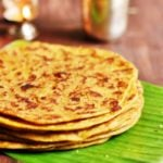 Puran poli recipe | How to make puran poli recipe | paruppu poli recipe | Obattu recipe