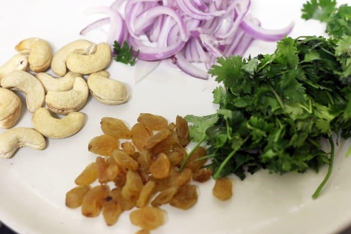 ingredients for ghee rice