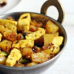 Aloo paneer dry curry
