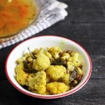 Cauliflower pepper fry recipe, gobi pepper fry recipe