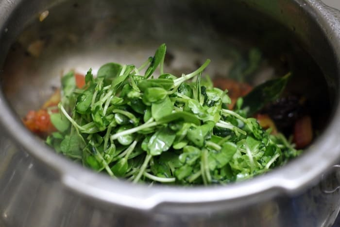 methi pappu recipe step3