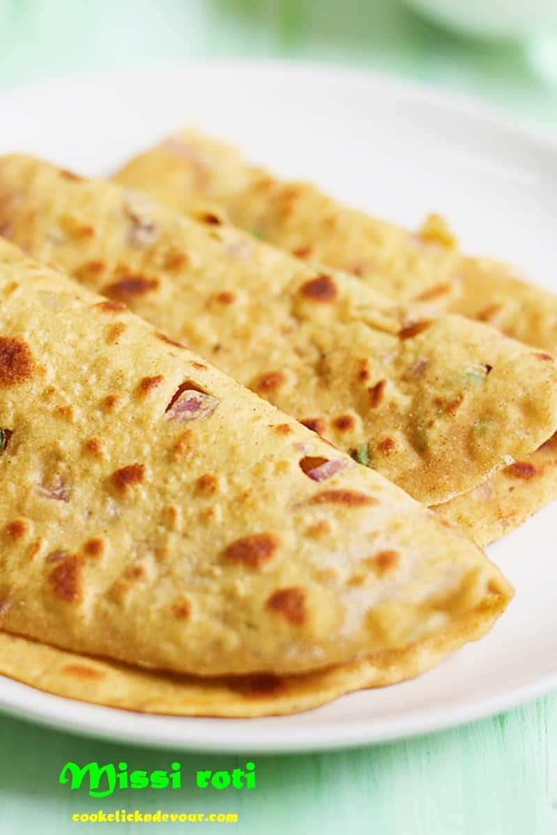 How to make punjabi missi roti