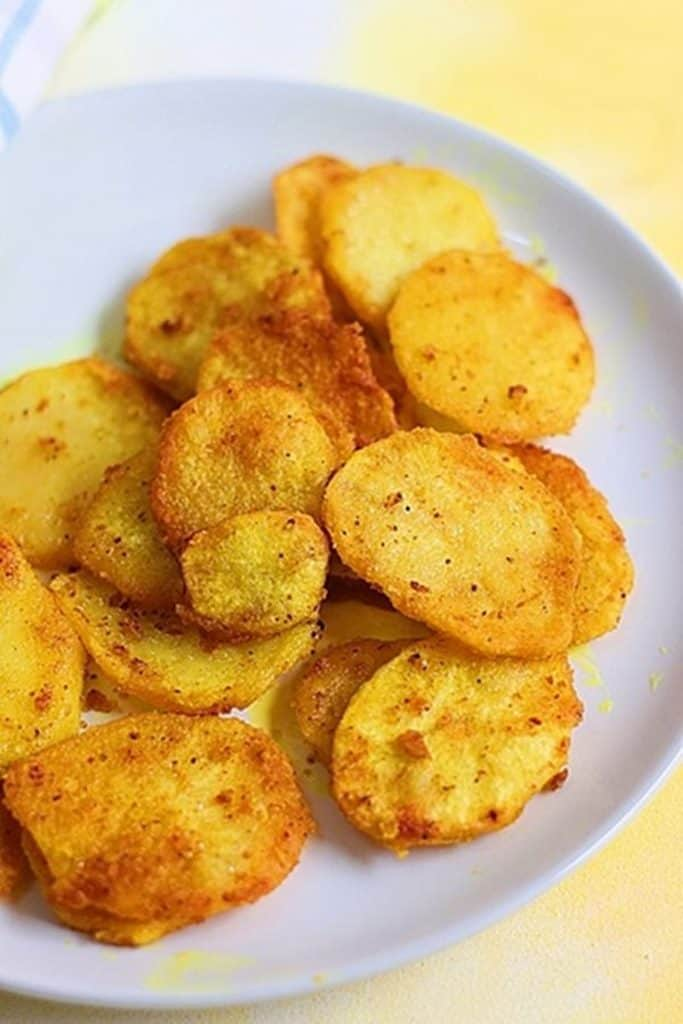 Potato fries recipe | how to make tava potato fries recipe.