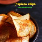 Tapioca chips recipe, maravalli kizhangu chips | How to make tapioca chips