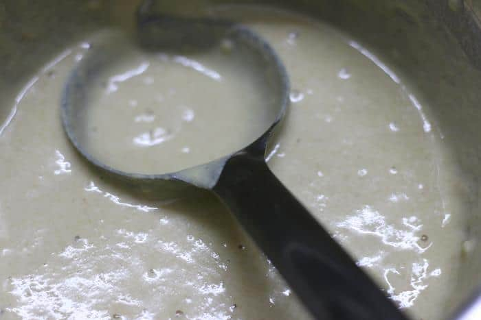 making batter for eggless pancakes recipe
