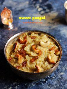 sweet-pongal-recipe