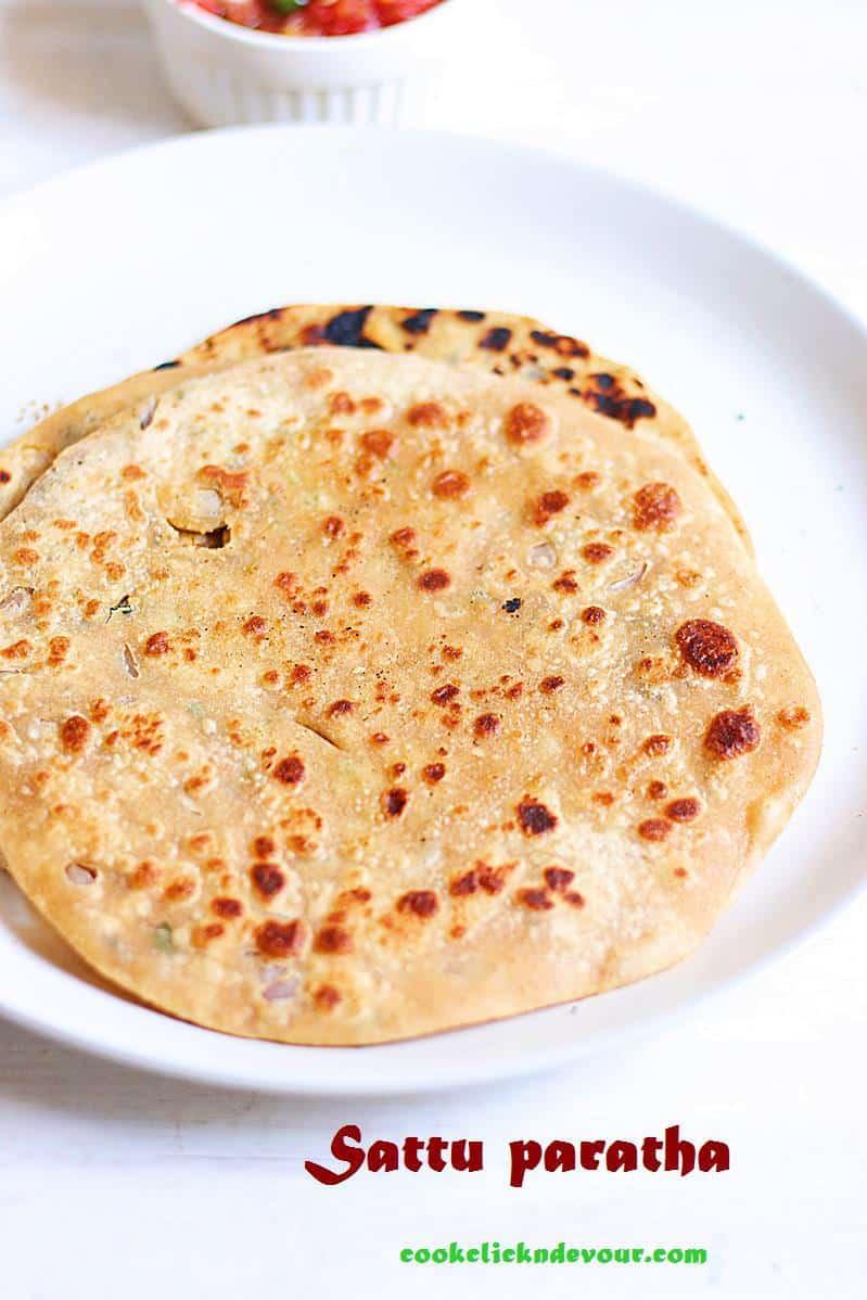 sattu paratha recipe, Indian breakfast recipes
