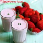 Strawberry lassi recipe, how to make strawberry lassi | Lassi recipes