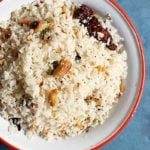 Coconut rice recipe | Thengai sadham recipe