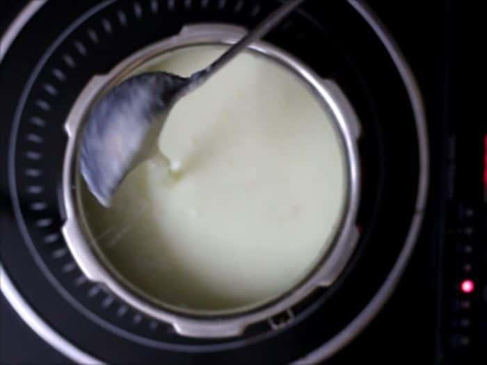 phirni ready to mix in mango puree