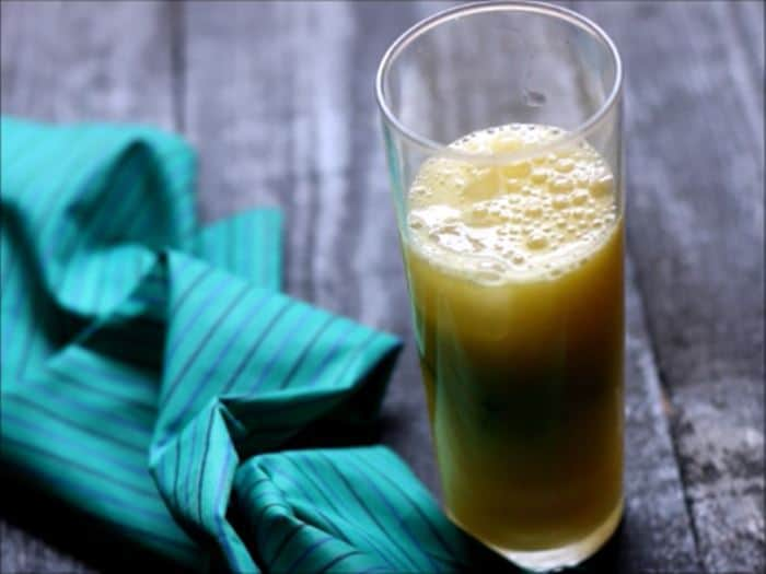 virgin pineapple mojito