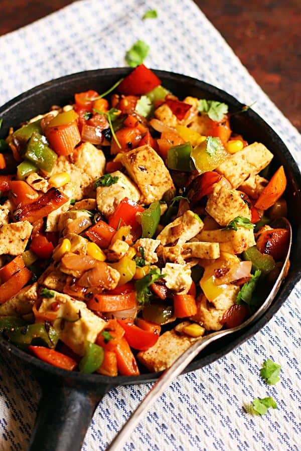 easy and quick paneer fry recipe