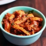 Baby Corn Masala Recipe (with video)