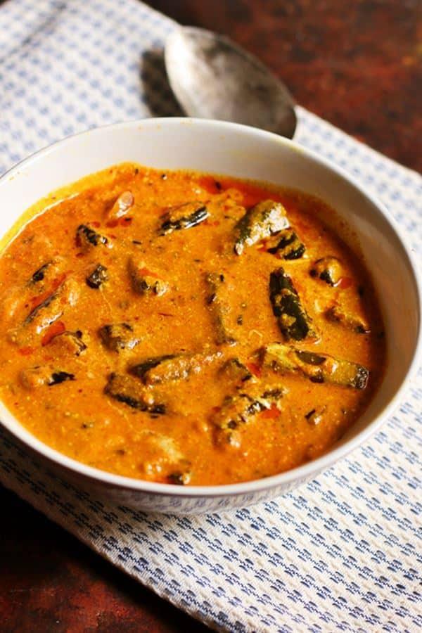 How to make dahi bhind recipe, dhai wali bhindi recipe