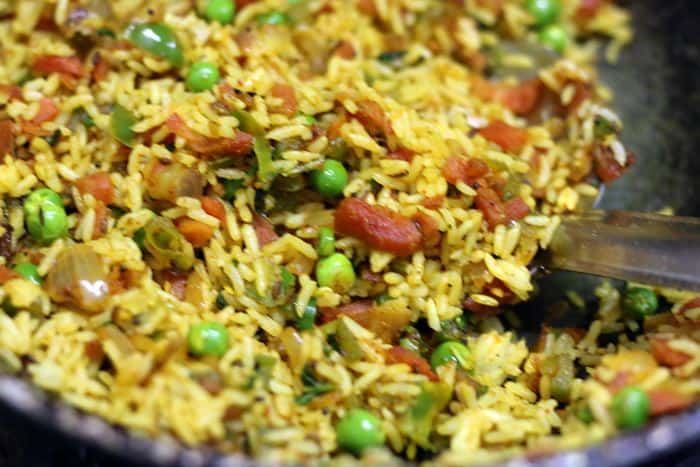 masala rice ready