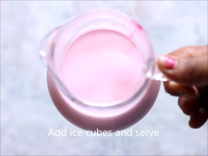 Indian rose milk recipe