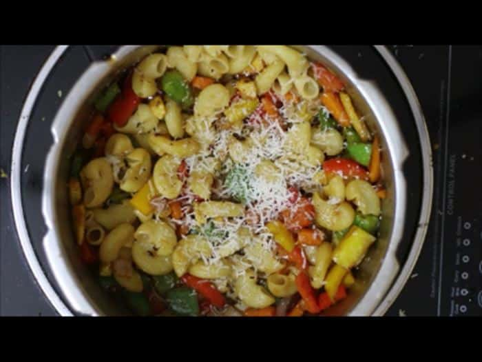 vegetable pasta recipe, veg pasta recipe