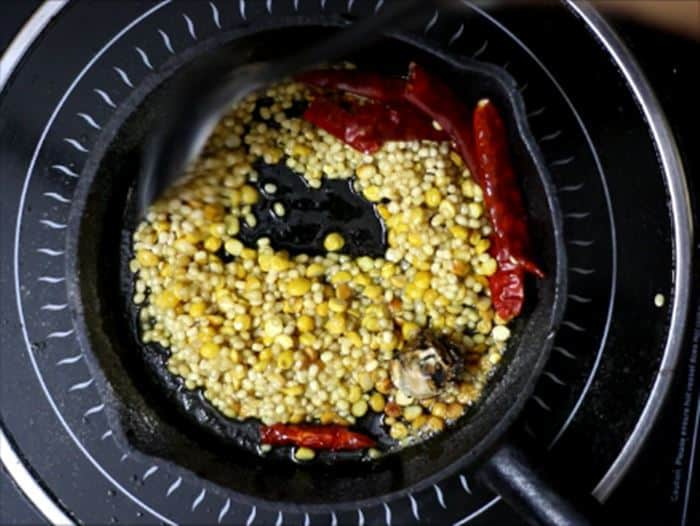 pudina thogayal recipe making