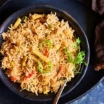Vegetarian Mexican Rice Recipe (Restaurant Style)