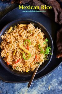 Vegetarian Mexican rice recipe